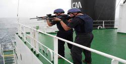gemilerde silahlı güvenlik